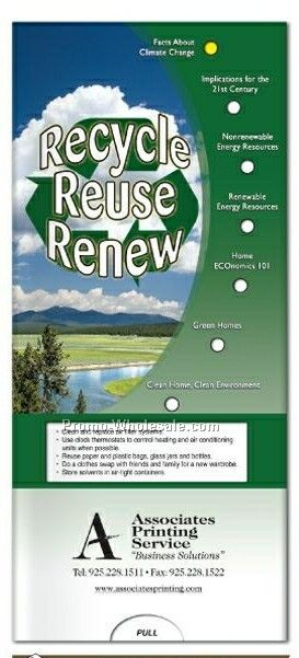 Recycle, Reuse, Renew Chart