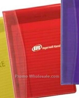 "Red Aria Junior Folio W/ Pad 8-1/2""x6""x1/2"""