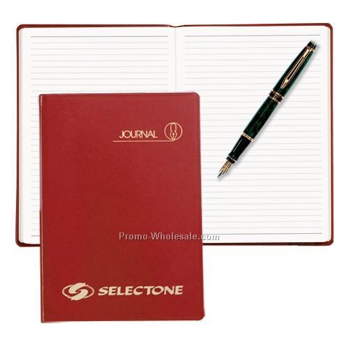 Red Sun Graphix Skivertex Portable Ruled Journal (White Paper)