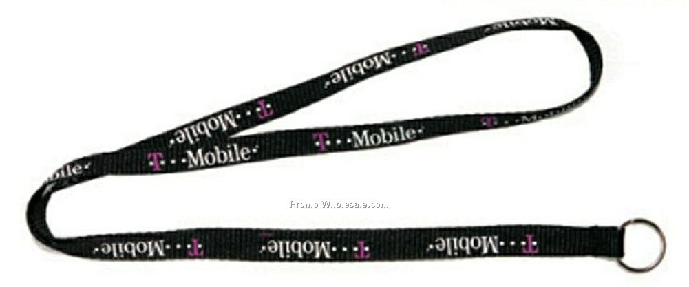 Screen Printed Lanyards - 1/2""
