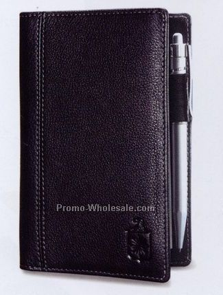 Signature Leather Jotter