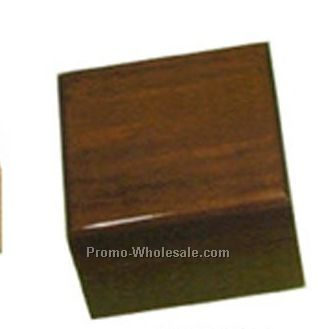 Square Wooden Box (Dark Brown)