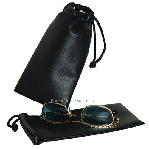 "Synthetic Leather Glasses/ Utility Case (4""x7"")"