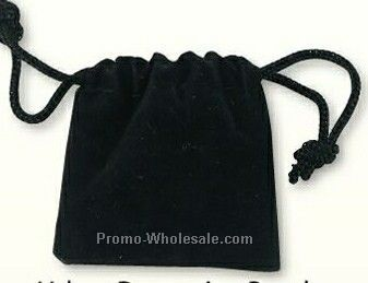 Velour Drawstring Pouch