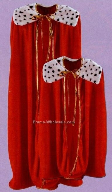 "33"" Child King/Queen Red Robe"