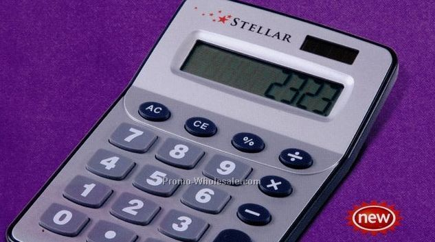 "4-1/2""x6-3/4"" Large 8 Digit Calculator With Large Keys"