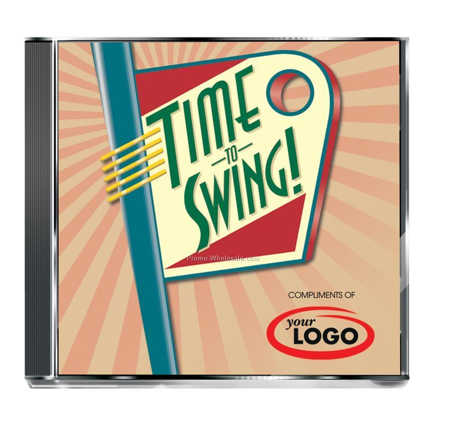 Big Band Time To Swing Compact Disc In Jewel Case (10 Songs)