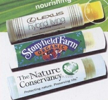 Blueberry Clearly Organic Lip Balm With Spf 15