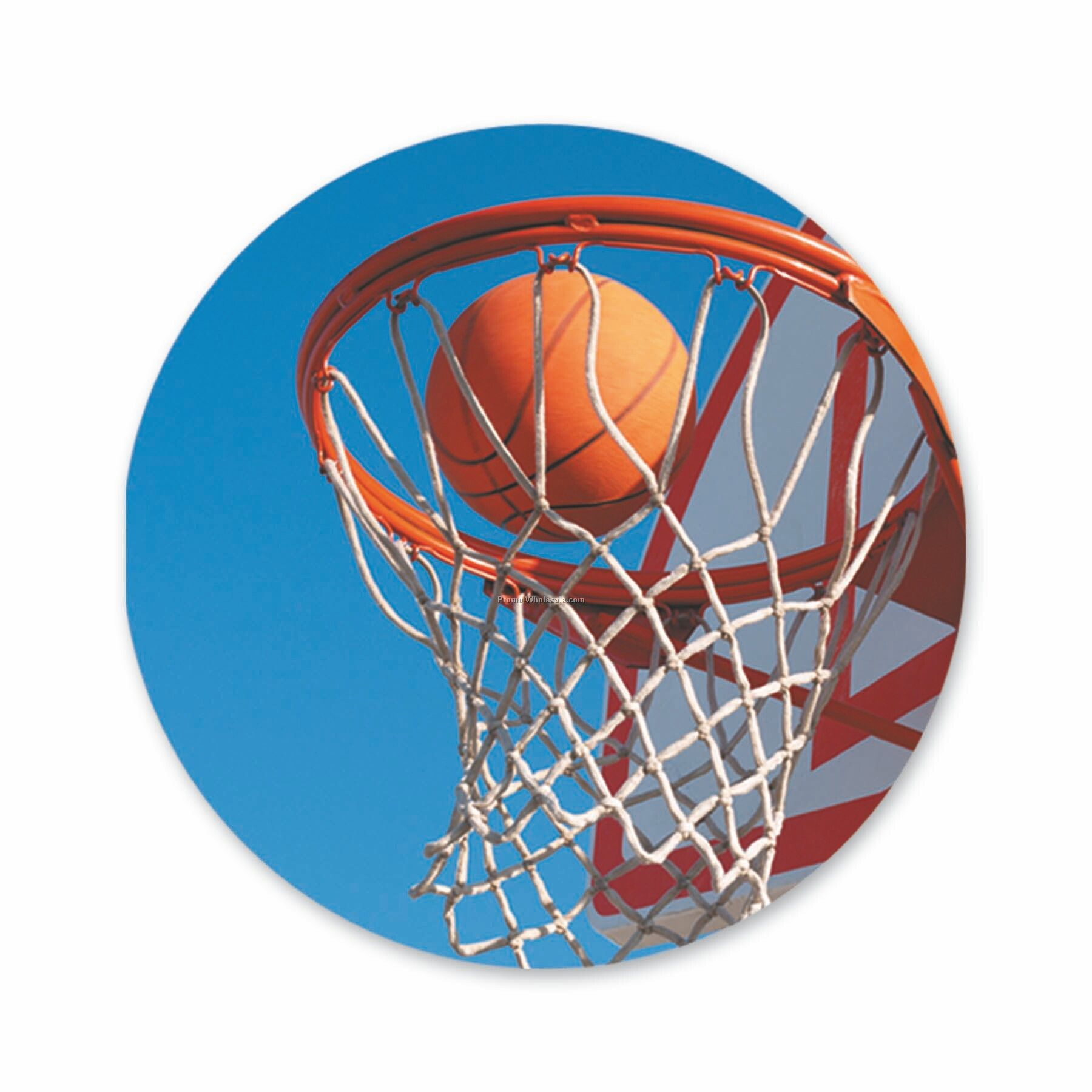 "Cnij Sports Labels (2"" - Basketball)"