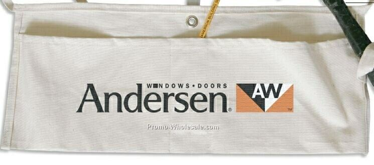 Contractor's Cotton Canvas Waist Apron (10 Oz. Natural)