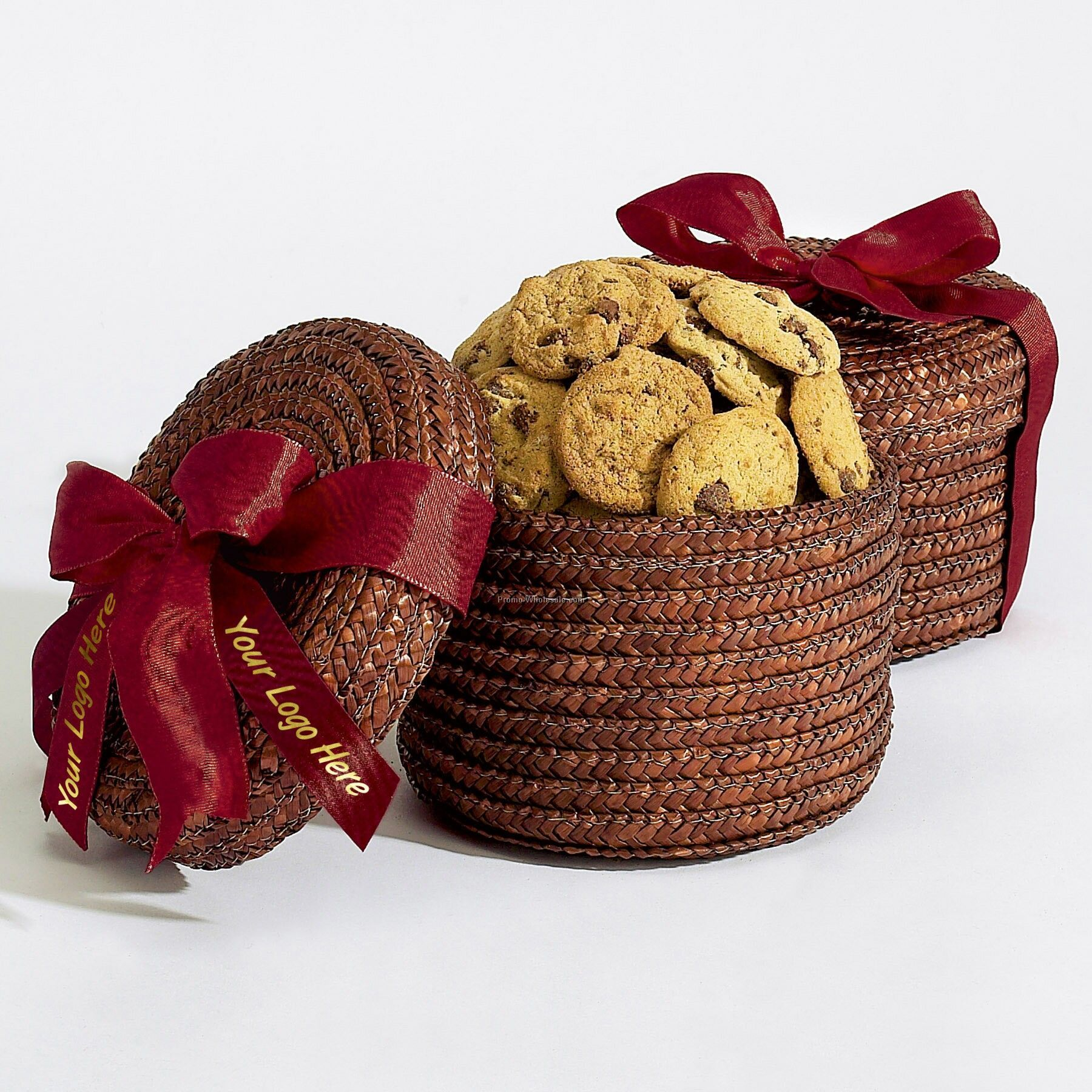 Cookie Lover's Delight Lidded Gift Basket