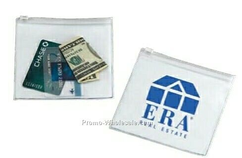 Deboer Vinyl Pouch W/Plastic Closure (3 Day Shipping)