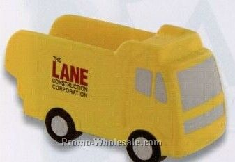 Dump Truck Squeeze Toy