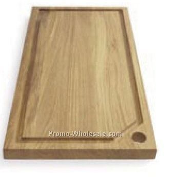 Edge Carving Board Oak Large
