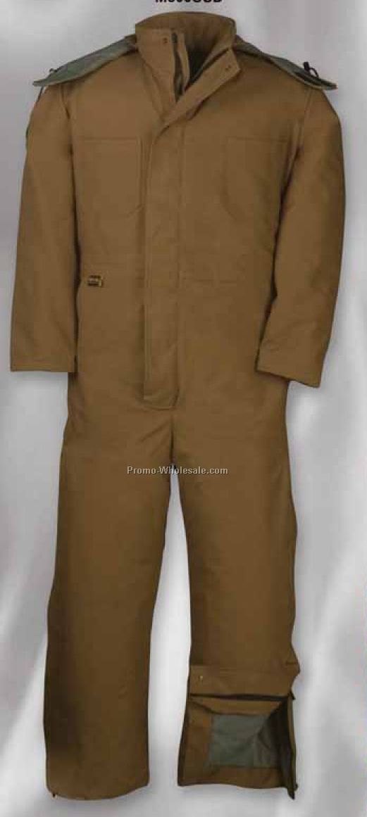 Flame Resistant 11 Oz. Hydro Coverall W/ Modaquilt Lining (S-xl)