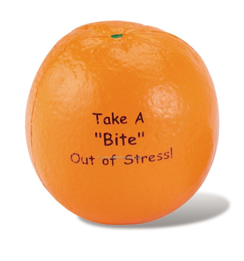 Food Fruit Orange Squeeze Toy