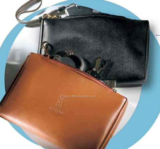 Genuine Leather Valuables Pouch