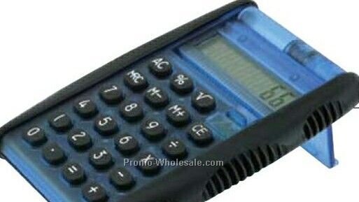 "Giftcor Collection Blue Flip Calculator 3""x3-3/4"""