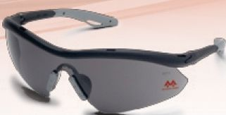 Hombre Mcr Safety Glasses - Silver Mirror