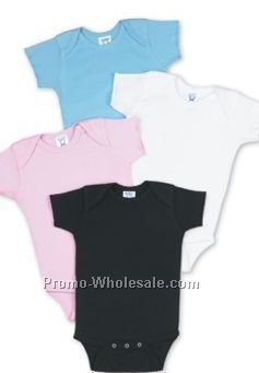 Infant 1 Piece Light Colors Short Sleeve Creeper (Infant Size) Rabbit Skin
