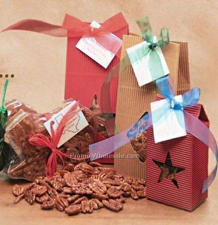 Large Corrugated Bag - 10 Oz. Pecans