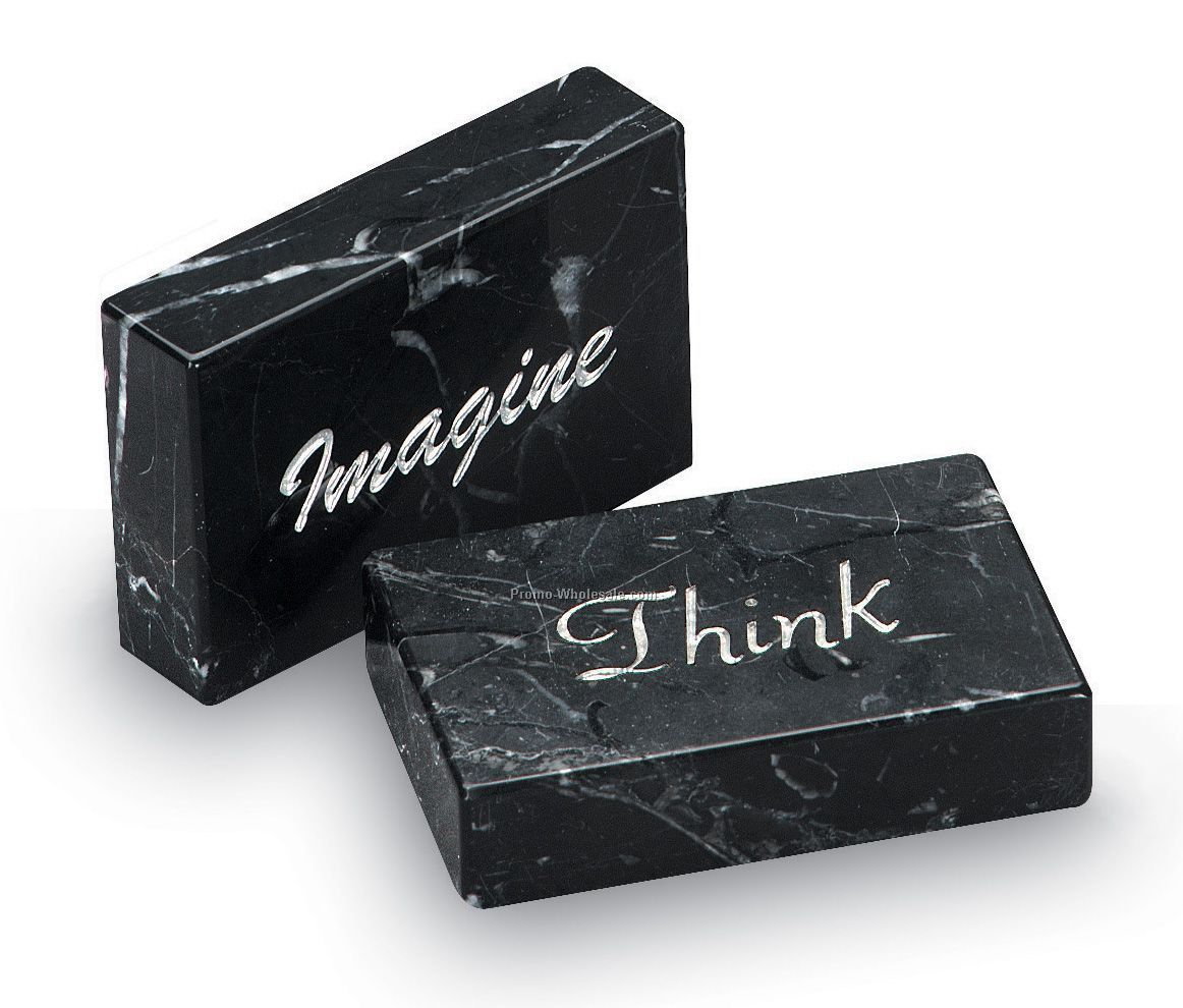 Marble Milan Memento W/ Think Inspirational Message