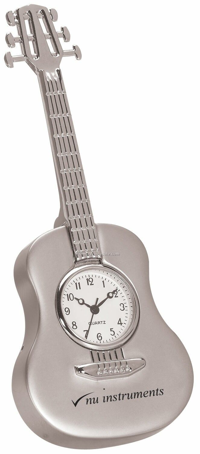 Metal Guitar Clock