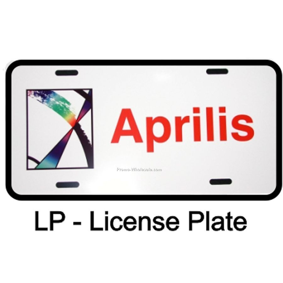 Rectangle License Plate