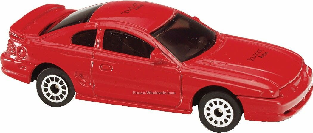 Red Ford 99 Mustang Die Cast Mini Vehicles