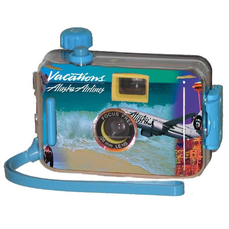 Semi Custom Single Use Stock Underwater Camera