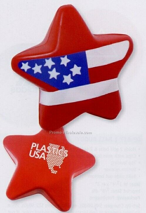 Stars & Stripes Stress-ease Toy (Standard Shipping)