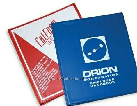 "1-1/2"" Ring French Calf Vinyl Express Ring Binders"