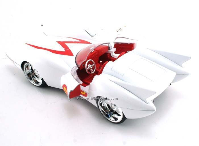"1/24 Scale 7"" Speed Racer Die Cast Race Car"