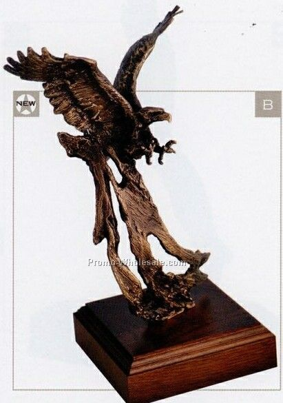 "12"" Up Draft Eagle Statue"