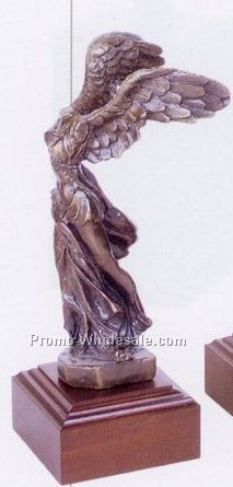 "12-1/2"" Winged Victory Sculpture"