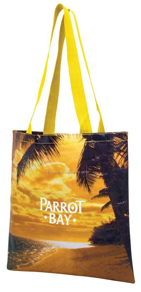 "15""x15.5"" Photografx Scapes Flat Tote Bag"