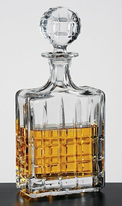 28 Oz. Rectangle Alice Decanter