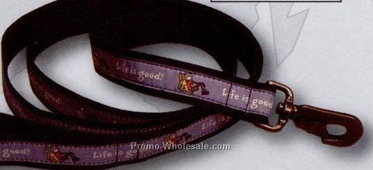 "3/4"" Wide Designer Medium Mutt Dog Leash"