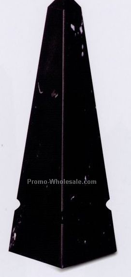 "3""x10""x3"" Grooved Obelisk Award - Medium"