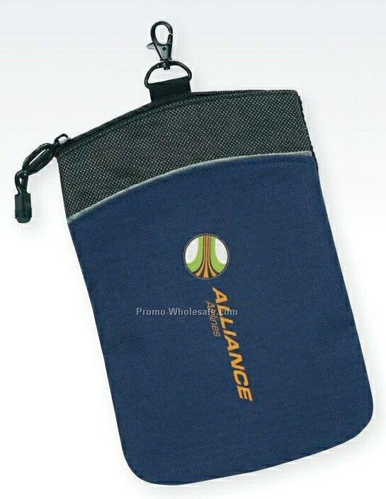 "6-1/2""x9-1/2"" Atchison Focal Point Golf Pouch"
