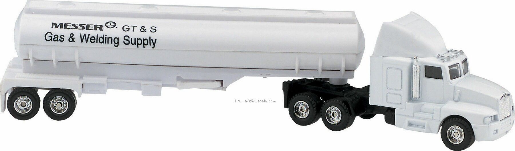 "7"" Die Cast Conventional Hauler Truck With Tanker"