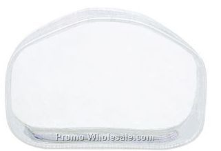 "7""x2""x4-1/2"" Clear Carry All Pouch"