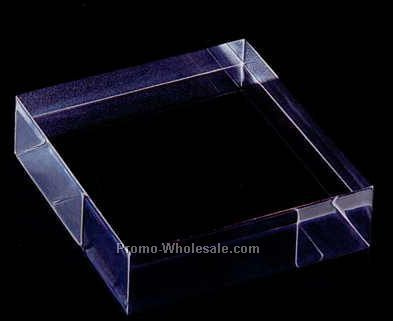 "Acrylic Specialty Base (Heavy Block) 3""x3""x6"""