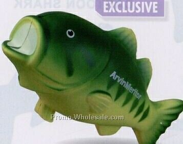 Aquatic Animals Squeeze Toy - Bass