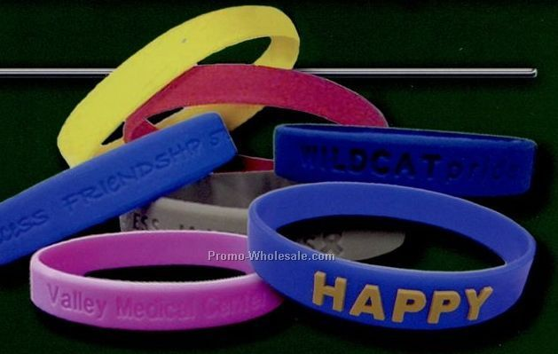 Blank Silicone Bracelet (Adult & Youth)