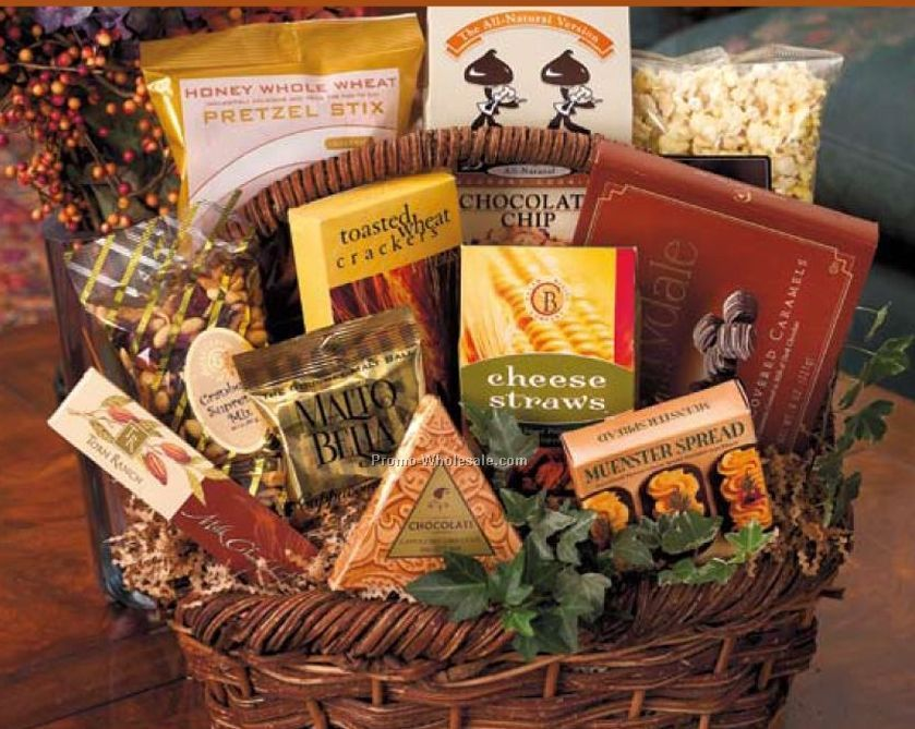Bountiful Gourmet Gift Basket (Small)