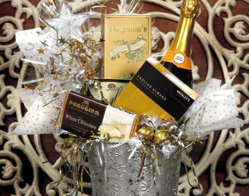 Congratulations & Celebrations Gift Basket