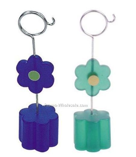 Flower Shape Memo Holder
