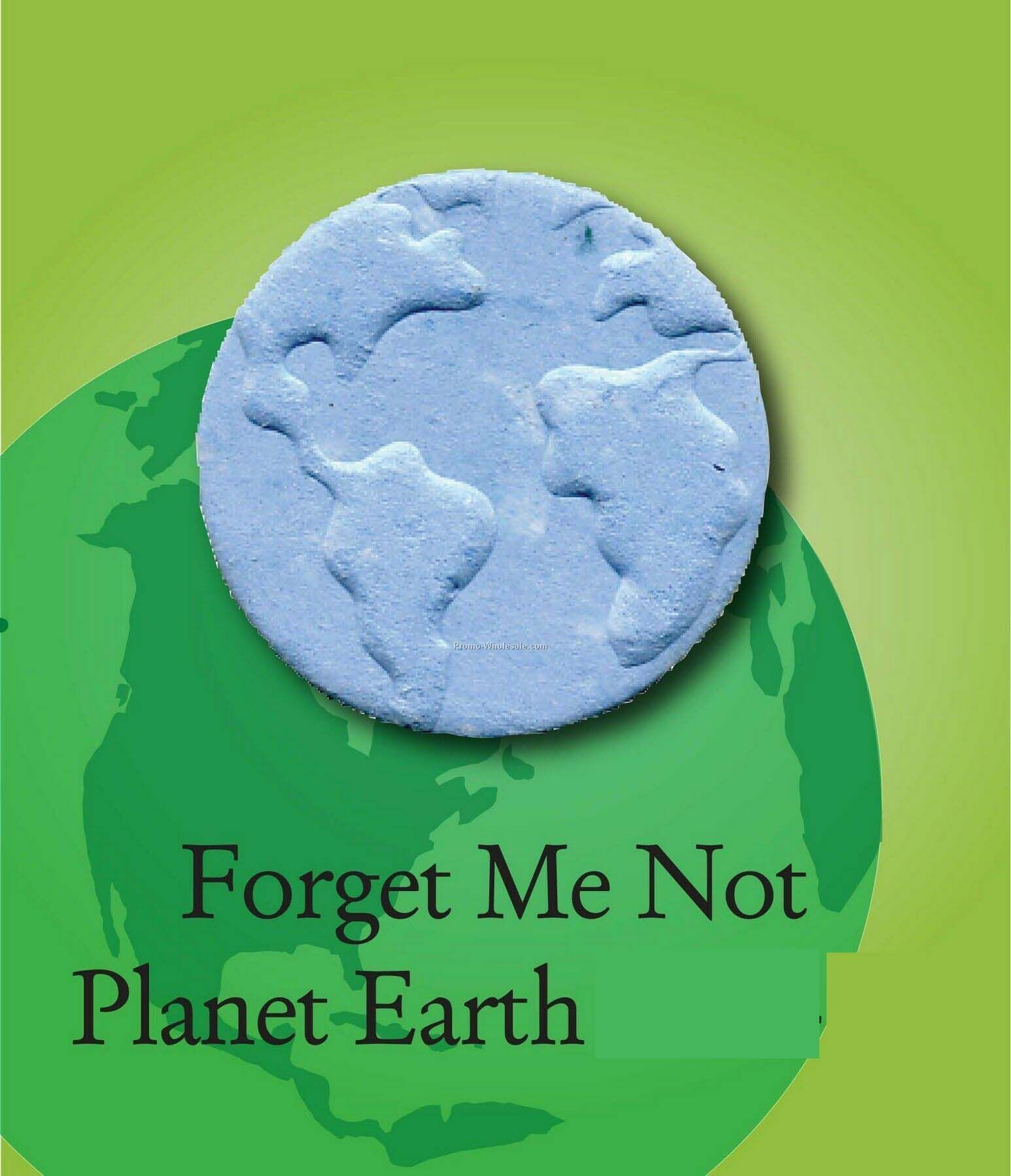 Forget Me Not Planet Earth Handmade Seed Plantable Mini
