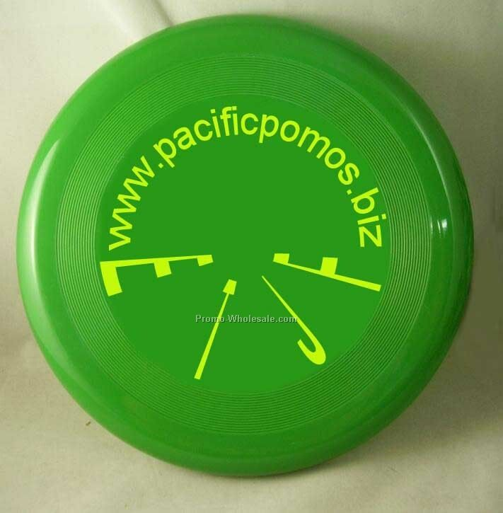 Promotional plastic Frisbee with customised logo printing